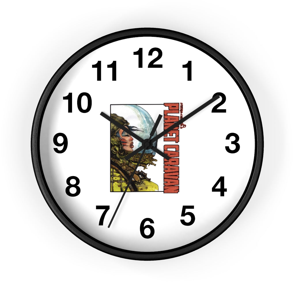 Planet Caravan (Woman Design) - Wall Clock