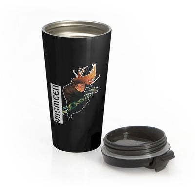 Yasmeen (Chain Design) - Stainless Steel Travel Mug