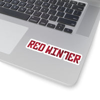 Red Winter - Kiss-Cut Stickers