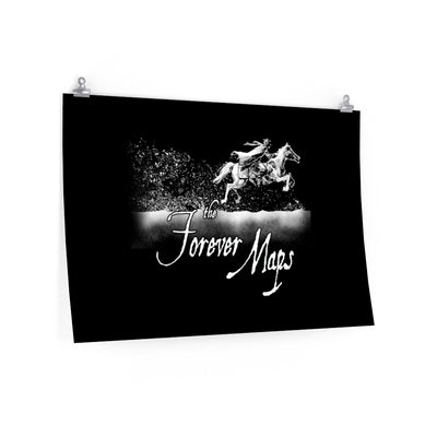Forever Maps (Gallop Design) - Poster