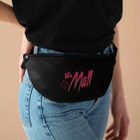 The Mall (Logo Design) - Black Fanny Pack