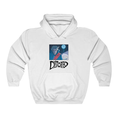 Distorted (Promo 1 Design) - Heavy Blend™ Hooded Sweatshirt