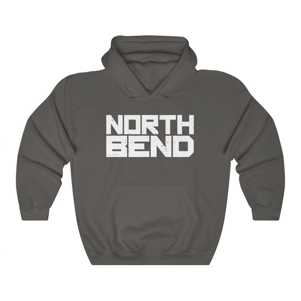 North Bend (Logo Design) - Heavy Blend™ Hooded Sweatshirt