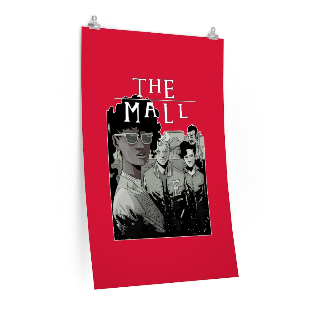 The Mall (Lost Boys Homage Design) - Poster