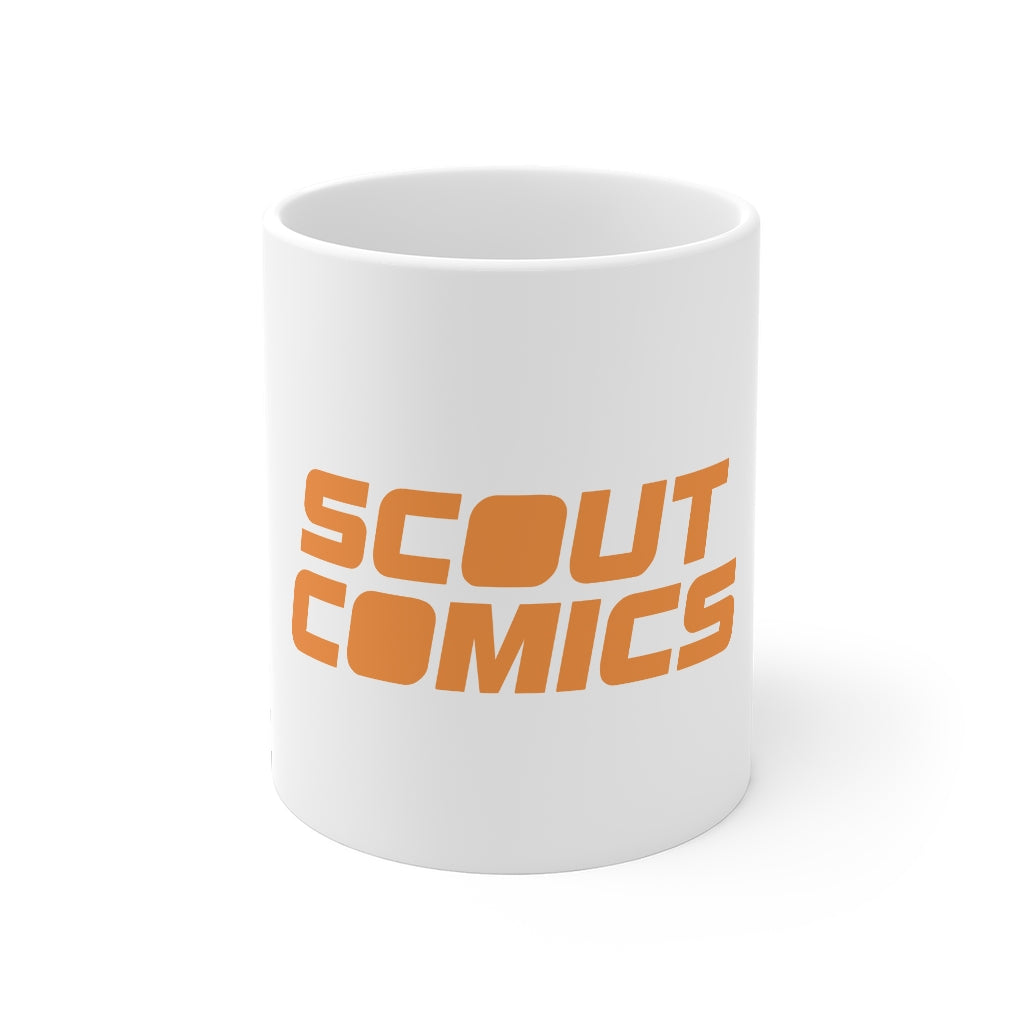 Scout Comics (Orange Logo) - 11oz Coffee Mug