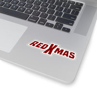 Red XMAS (Logo Design) - Kiss-Cut Stickers
