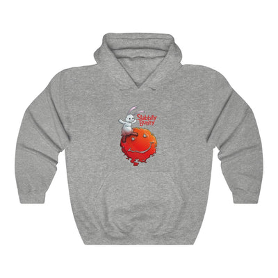 Stabbity Bunny (#1 Cover Design) - Heavy Blend™ Hooded Sweatshirt