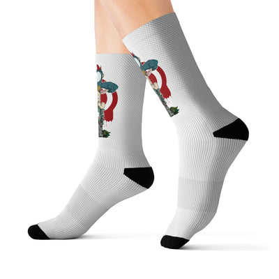 The Adventures of Byron - Sublimation Socks