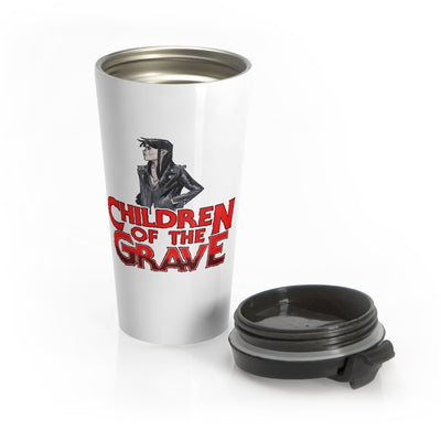 Children Of The Grave (Female Design) - Stainless Steel Travel Mug