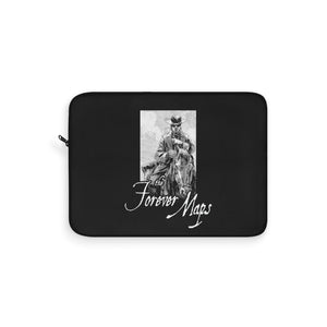 Forever Maps (Horseback Design) - Black Laptop Sleeve