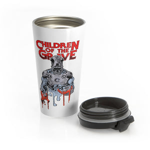 Children Of The Grave (Drip Design) - Stainless Steel Travel Mug