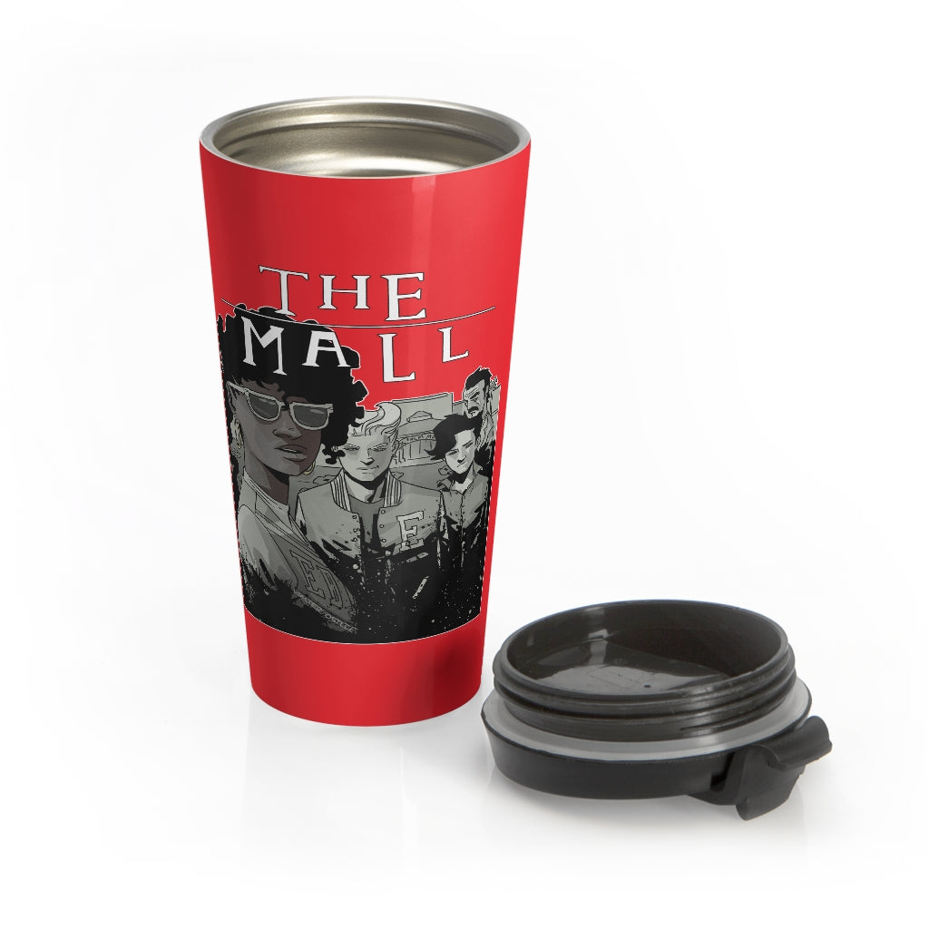 The Mall (Lost Boys Homage Design) - Stainless Steel Travel Mug