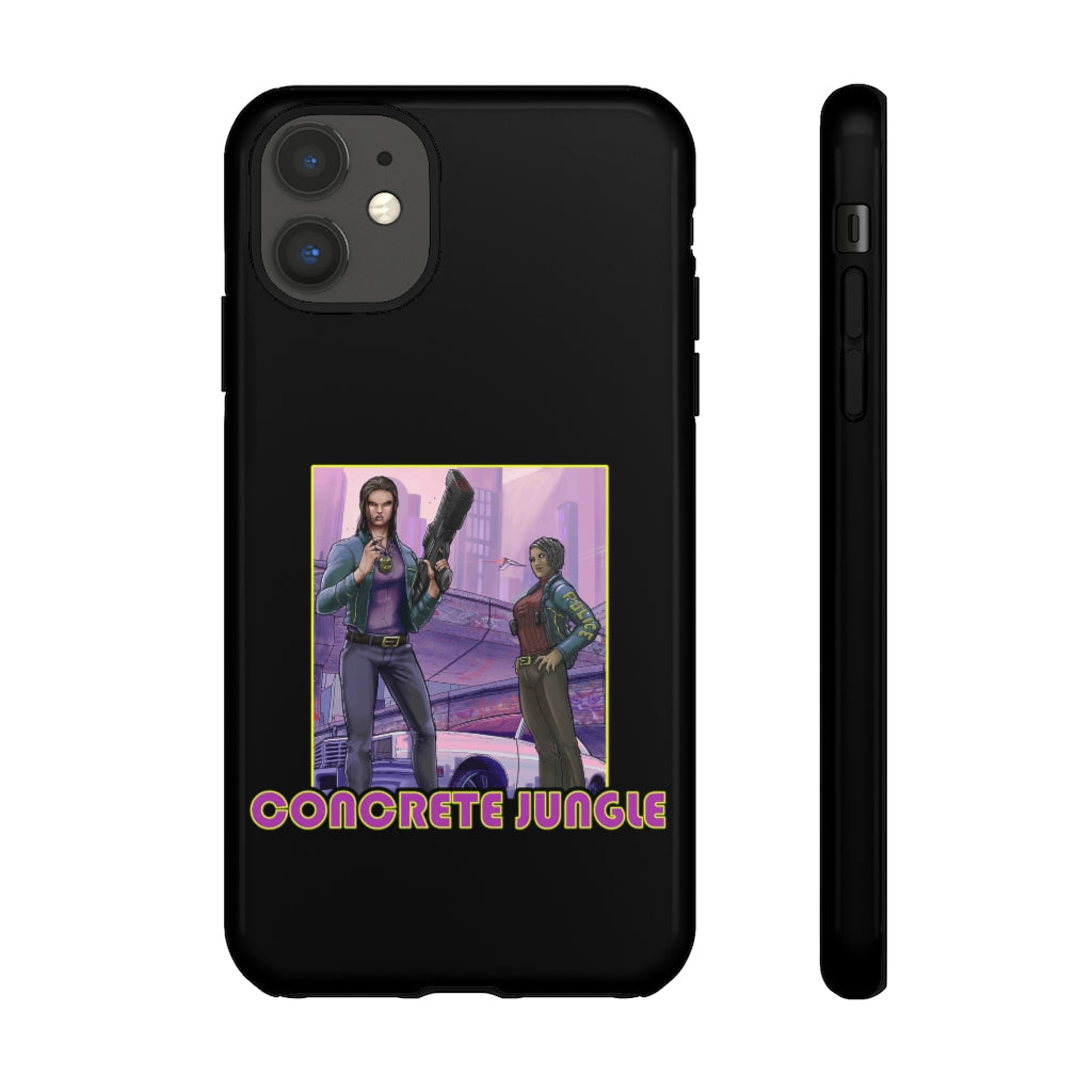 Concrete Jungle (Issue One Design) - Tough Phone Cases (iPhone & Android)
