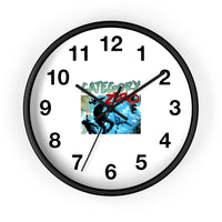 Category Zero (Shock Design) - Wall Clock