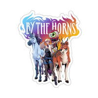 By The Horns (Group Design) - Kiss-Cut Stickers
