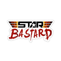 Star Bastard (Logo Design) - Kiss-Cut Stickers