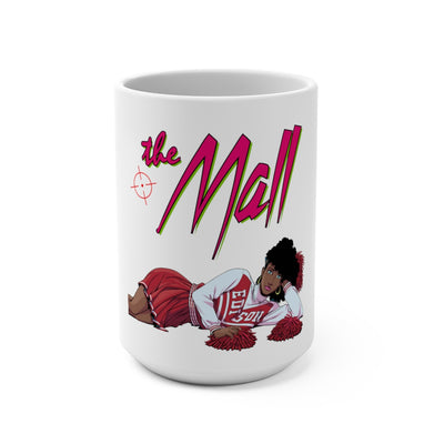 The Mall (Cheerleader Design) -  White Mug 15oz