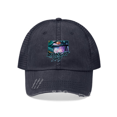 Midnight Sky (They Live Homage Design) - Unisex Trucker Hat