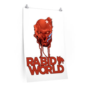 Rabid World (Head Design) - Poster