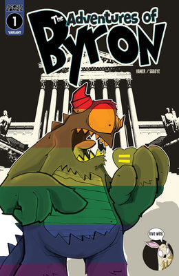 Adventures of Bryon #1 - Webstore Exclusive Cover