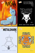 Metalshark Bro 2 #1-4 - CBSN Variant Cover Set