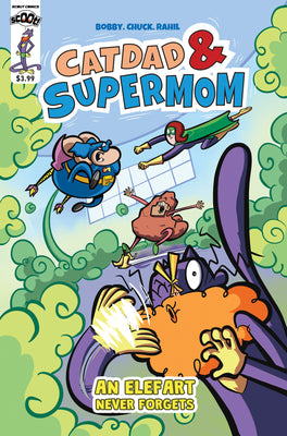 Catdad And Supermom: Elefart Never Forgets - DIGITAL COPY