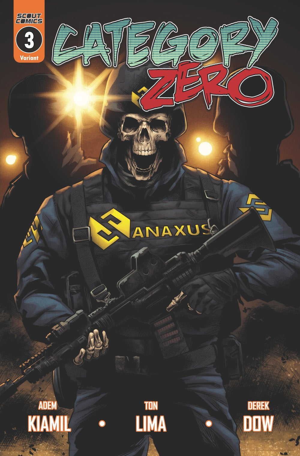 Category Zero #3 - Webstore Incentive Cover