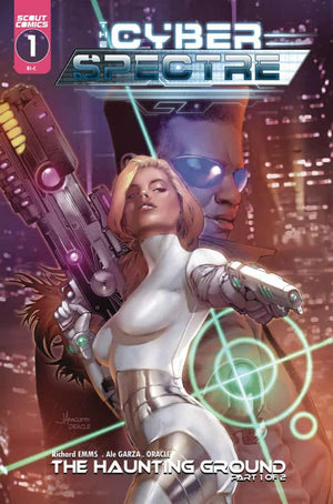 Cyber Spectre #1 - Cover C