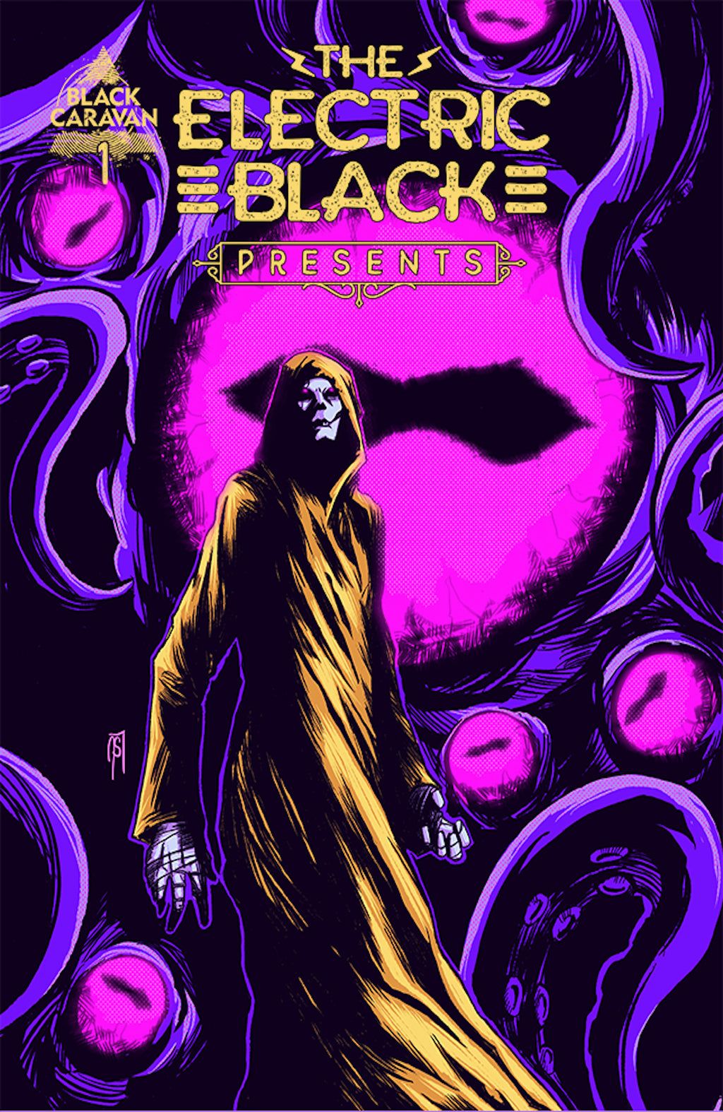 The Electric Black Presents #1 - DIGITAL COPY