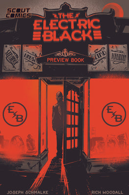 Electric Black - ASHCAN Preview - NYCC Exclusive Cover - SIGNED BY SCHMALKE & WOODALL