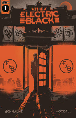 Electric Black #1 - Metal Cover Edition