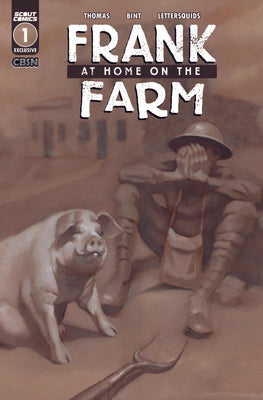 Frank At Home On The Farm #1 - CBSN Variant Cover