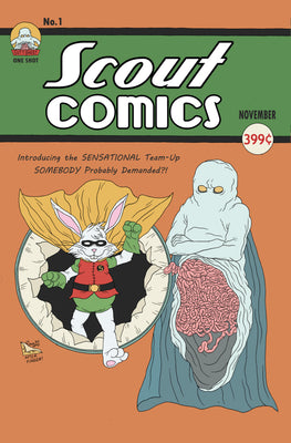 Gutt Ghost/Stabbity Bunny #1 - Webstore Exclusive Cover