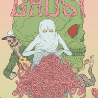 Gutt Ghost #1 - 2nd Print