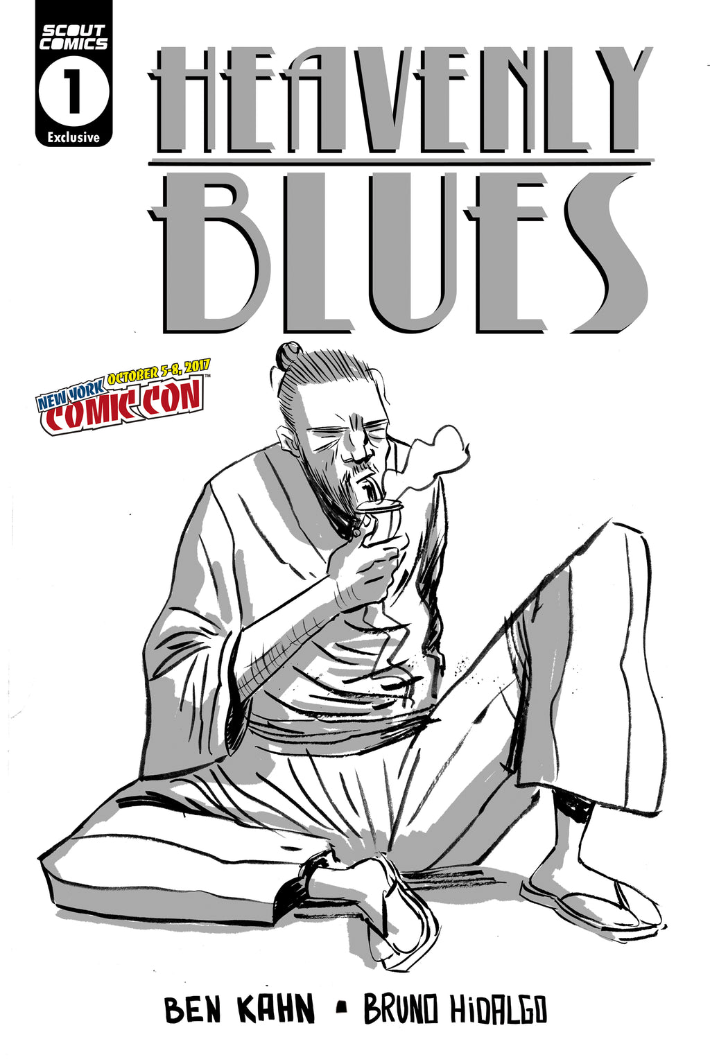 Heavenly Blues #1 - NYCC Exclusive Cover