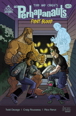 The Perhapanauts: First Blood #1 - Webstore Exclusive Cover