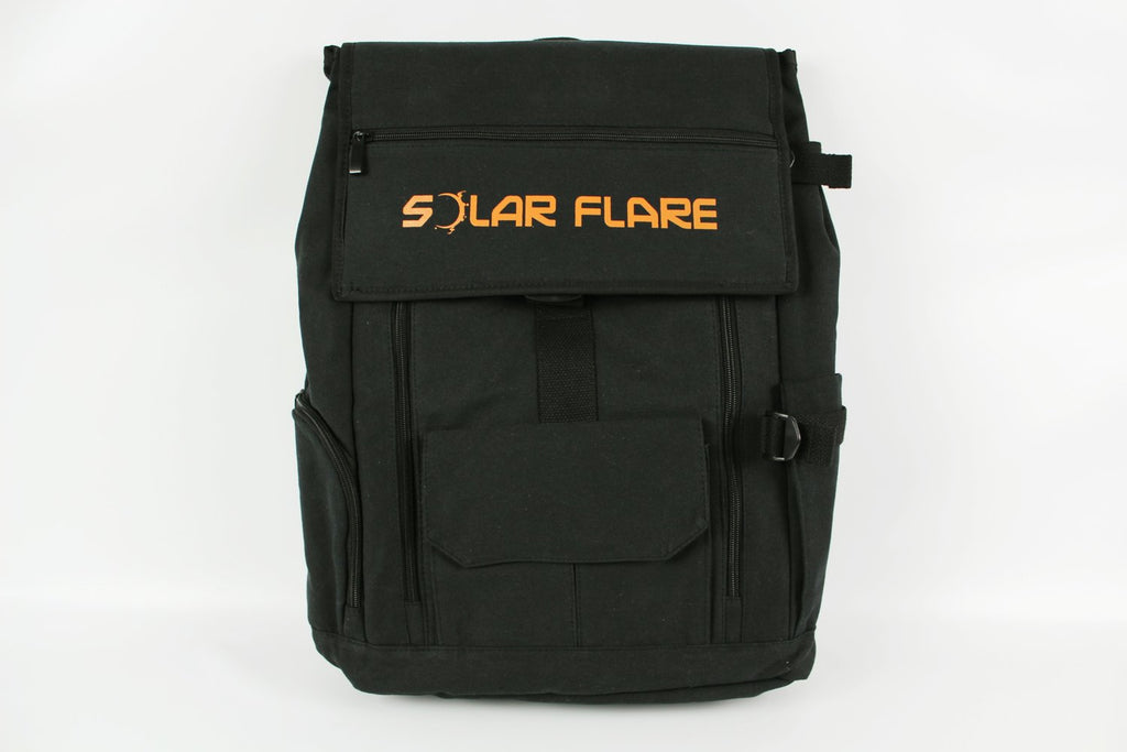 Solar Flare - Large Black Survival Backpack