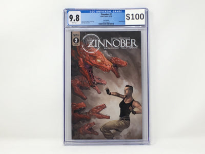 CGC Graded - Zinnober #2 - 9.8