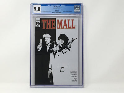 CGC Graded - The Mall #2 - Retailer Incentive Cover - 9.8