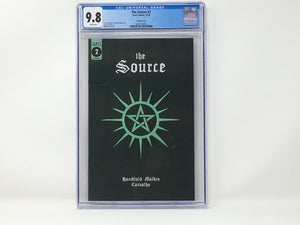 CGC Graded - The Source #2 - Retailer Incentive Cover - 9.8