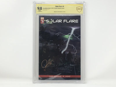 CBCS Graded - Solar Flare #6 - Kickstarter Exclusive Cover - Signature Series - 9.8