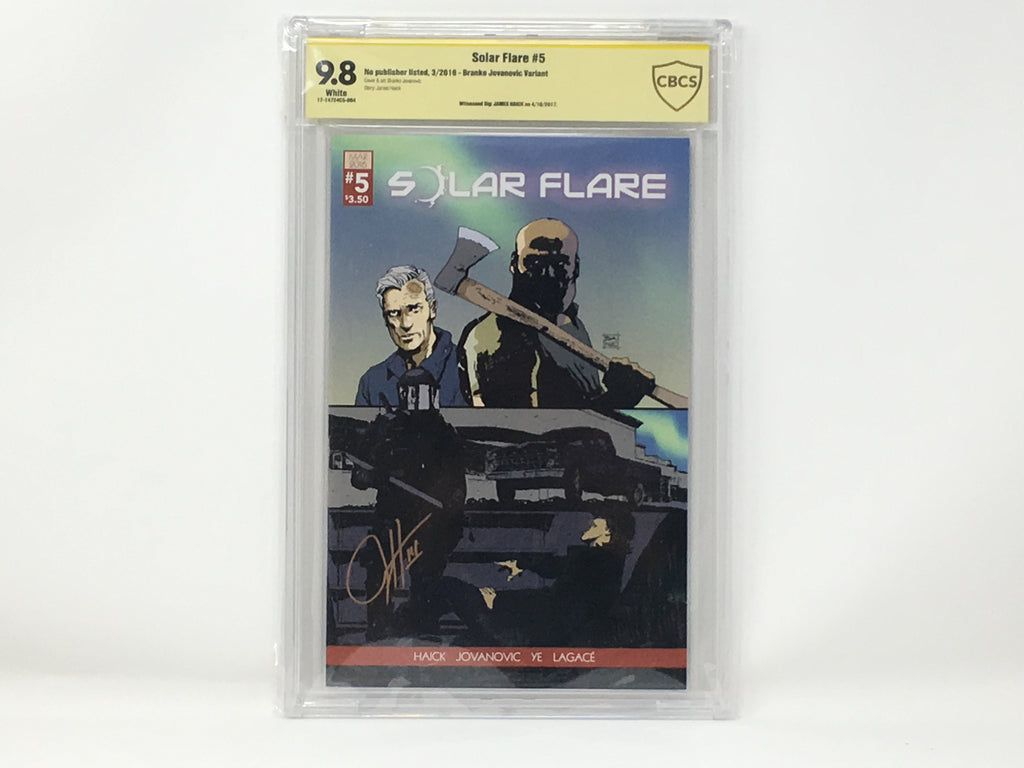 CBCS Graded - Solar Flare #5 - Kickstarter Exclusive Cover - Signature Series - 9.8
