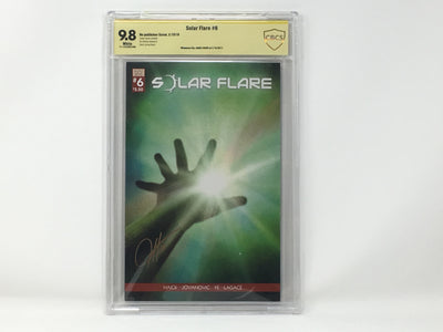CBCS Graded - Solar Flare #6 - Original Kickstarter Sunburst Cover - Signature Series - 9.8