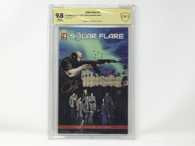 CBCS Graded - Solar Flare #4 - Kickstarter Exclusive Cover - Signature Series - 9.8