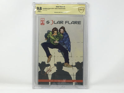 CBCS Graded - Solar Flare #3 - Kickstarter Exclusive Cover - Signature Series - 9.8