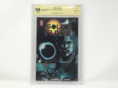 CBCS Graded - Solar Flare #2 - Kickstarter Exclusive Cover - Signature Series - 9.8
