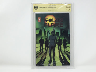 CBCS Graded - Solar Flare #1 - Kickstarter Exclusive Cover - Signature Series - 9.8