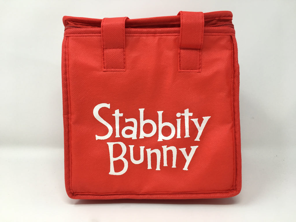 Stabbity Bunny - Insulated Lunch Bag (Box)