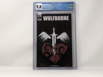 CGC Graded - Wulfborne #1 - Webstore Exclusive Cover - 9.8