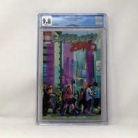 CGC Graded - Category Zero - ASHCAN Preview - 9.8